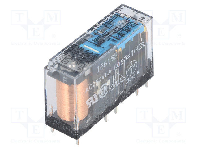G7SA-3A1B 24VDC_Relay: electromagnetic; 3PST; Ucoil:24VDC; 6A/250VAC; 6A/30VDC