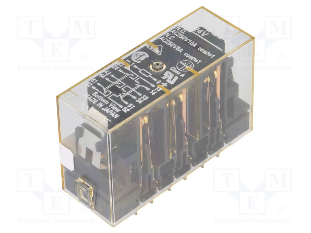 G7S-4A2B-E 24VDC_Relay: electromagnetic; 4PST; Ucoil:24VDC; 6A; safety