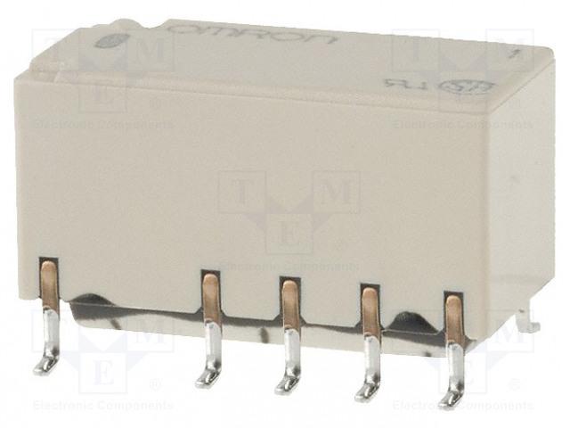 G6SK-2F 5VDC_Relay: electromagnetic; DPDT; Ucoil:5VDC; 0.5A/125VAC; 2A/30VDC