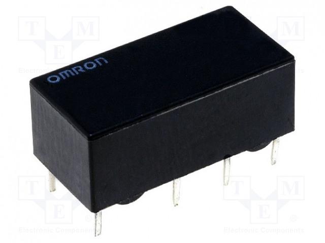 G6A-274P-ST-US 24VDC_Relay: electromagnetic; DPDT; Ucoil:24VDC; 0.5A/125VAC; 2A/30VDC