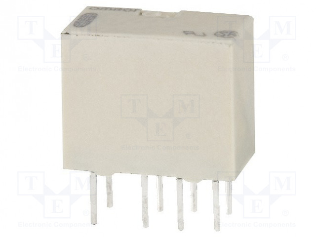 G6J-2P-Y 5VDC_Relay: electromagnetic; DPDT; Ucoil:5VDC; 0.3A/125VAC; 1A/30VDC