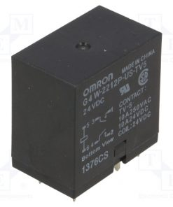 G4W-2212P-US-TV5 24VDC_Relay: electromagnetic; DPST-NO; Ucoil:24VDC; Icontacts max:10A