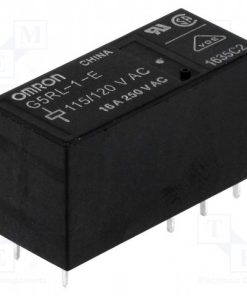 G5RL-1-E115/120AC_Relay: electromagnetic; SPDT; Ucoil:115VAC; 16A/250VAC; 16A/24VDC