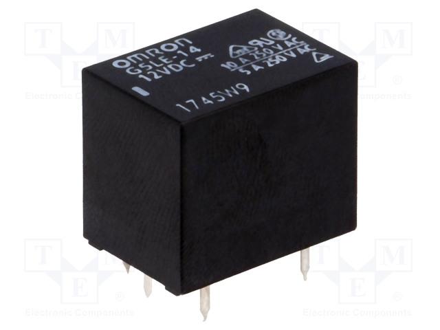G5LE-14 12VDC_Relay: electromagnetic; SPDT; Ucoil:12VDC; 10A/240VAC; 8A/30VDC