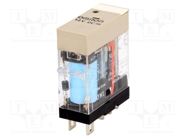 G2R-1-SND 12VDC (S)_Relay: electromagnetic; SPDT; Ucoil:12VDC; 10A/250VAC; 10A/30VDC