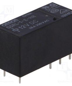 G5RL-1-E-HR 12VDC_Relay: electromagnetic; SPDT; Ucoil:12VDC; 16A/250VAC; 16A/24VDC