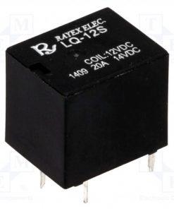 LQ-12S_Relay: electromagnetic; SPDT; Ucoil:12VDC; 20A; automotive; 6g