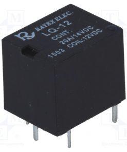 LQ-12_Relay: electromagnetic; SPDT; Ucoil:12VDC; 20A; automotive; 6g