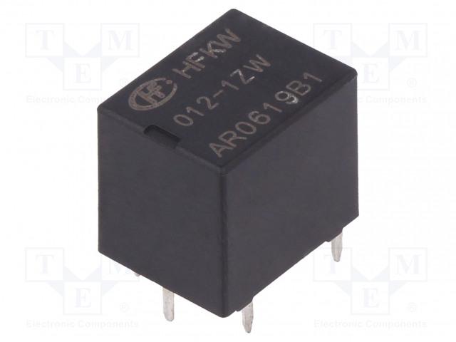 HFKW/012-1ZW_Relay: electromagnetic; SPDT; Ucoil:12VDC; 35A; Ucoil min:7.3VDC