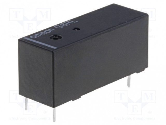 G6RL-1A 5VDC_Relay: electromagnetic; SPST-NO; Ucoil:5VDC; 8A/250VAC; 5A/30VDC