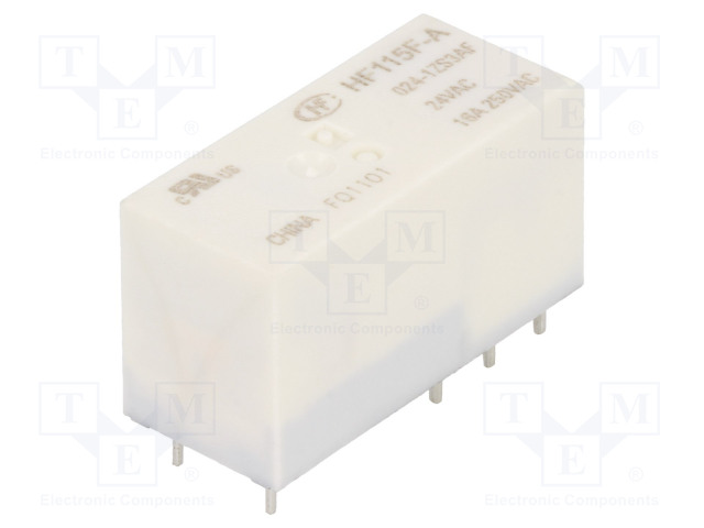 HF115F-A/024-1ZS3AF_Relay: electromagnetic; SPDT; Ucoil:24VAC; 16A/250VAC; 16A/24VDC