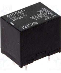 G5LE-1-36 24VDC_Relay: electromagnetic; SPDT; Ucoil:24VDC; 10A/240VAC; 8A/30VDC