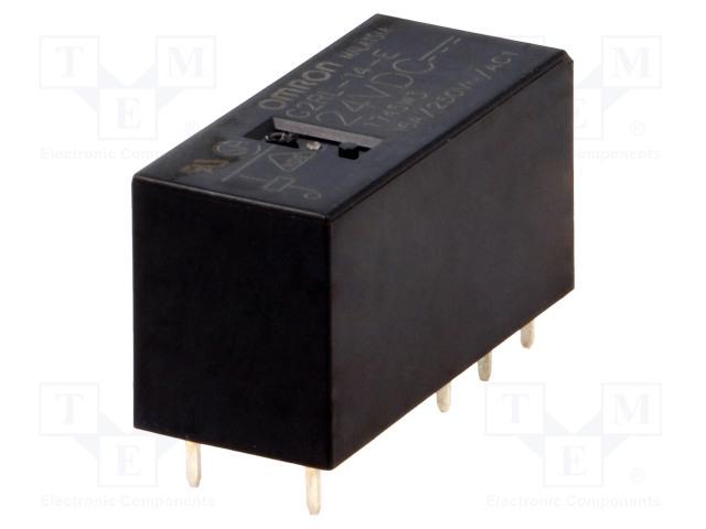 G2RL-14-E 24VDC_Relay: electromagnetic; SPDT; Ucoil:24VDC; 16A/250VAC; 16A/24VDC