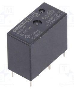 G5Q-14 24VDC_Relay: electromagnetic; SPDT; Ucoil:24VDC; 5A/250VAC; 5A/30VDC