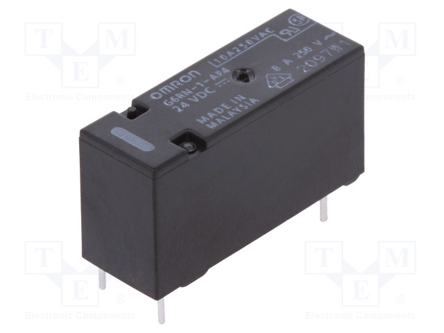 G6RN-1-AP4 24VDC_Relay: electromagnetic; SPDT; Ucoil:24VDC; 8A/250VAC; 5A/30VDC