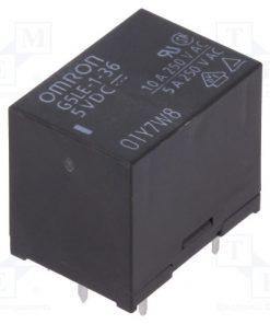 G5LE-1-36 5VDC_Relay: electromagnetic; SPDT; Ucoil:5VDC; 10A/240VAC; 8A/30VDC