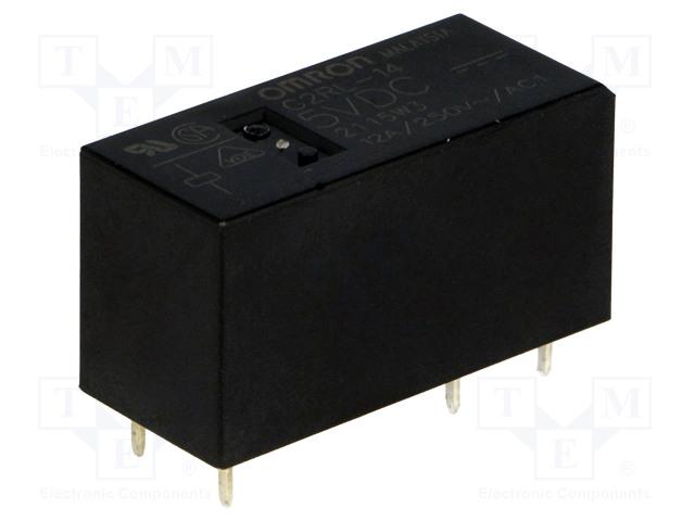 G2RL-14 5VDC_Relay: electromagnetic; SPDT; Ucoil:5VDC; 12A/250VAC; 12A/24VDC