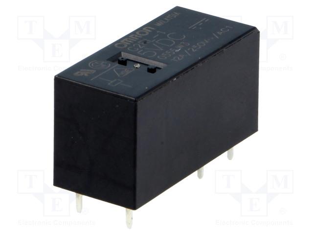 G2RL-1 5VDC_Relay: electromagnetic; SPDT; Ucoil:5VDC; 12A/250VAC; 12A/24VDC
