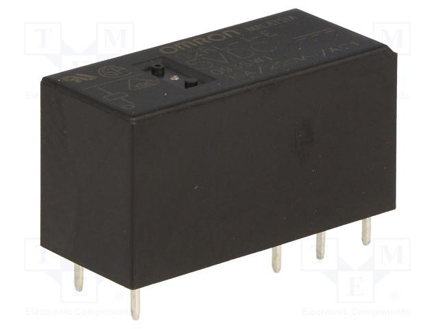G2RL-1-E 5VDC_Relay: electromagnetic; SPDT; Ucoil:5VDC; 16A/250VAC; 16A/24VDC