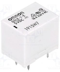 G5LE-1-E 5VDC_Relay: electromagnetic; SPDT; Ucoil:5VDC; 16A/250VAC; max.250VAC