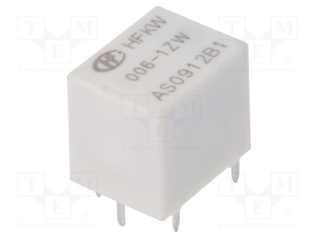 HFKW/006-1ZW_Relay: electromagnetic; SPDT; Ucoil:6VDC; 35A; Ucoil min:3.6VDC