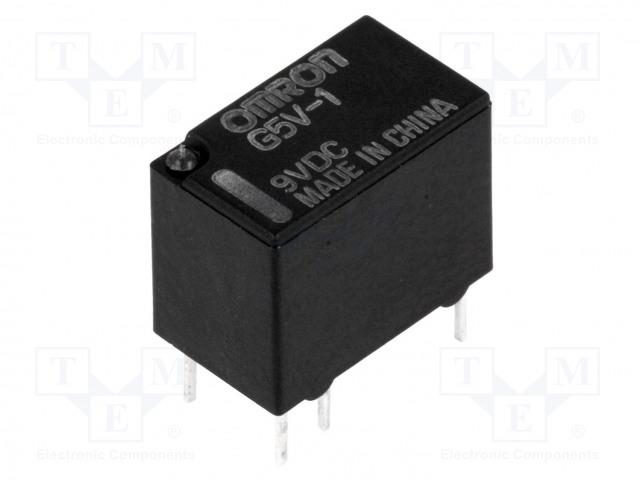G5V-1 9VDC_Relay: electromagnetic; SPDT; Ucoil:9VDC; 0.5A/125VAC; 1A/24VDC