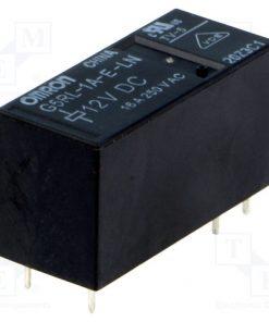G5RL-1A-E-LN 12VDC_Relay: electromagnetic; SPST-NO; Ucoil:12VDC; 16A/250VAC; 400mW