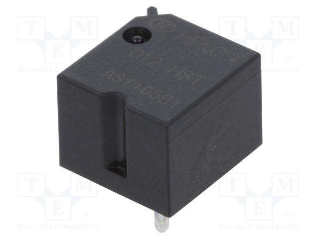 HFKC-T/012-HST_Relay: electromagnetic; SPST-NO; Ucoil:12VDC; 30A; 12x12.9x9.9mm