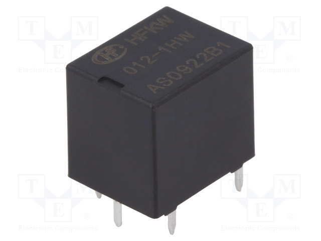 HFKW/012-1HW_Relay: electromagnetic; SPST-NO; Ucoil:12VDC; 35A; 240Ω; 600mW