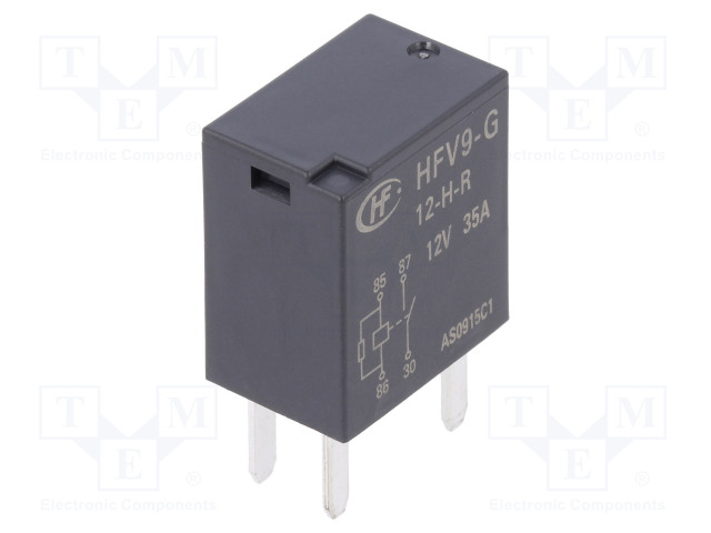 HFV9-G/12-H-R_Relay: electromagnetic; SPST-NO; Ucoil:12VDC; 35A; automotive