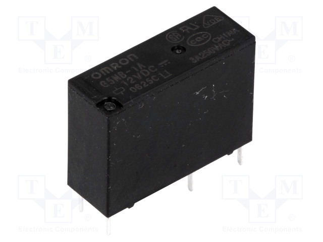G5NB-1A 12VDC_Relay: electromagnetic; SPST-NO; Ucoil:12VDC; 3A/125VAC; 3A/30VDC