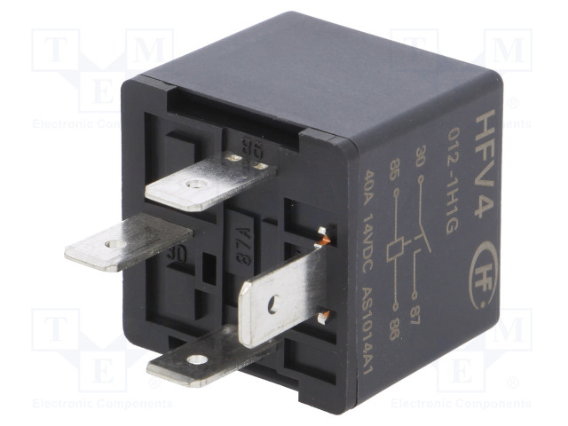 HFV4/012-1H1G_Relay: electromagnetic; SPST-NO; Ucoil:12VDC; 60A; automotive