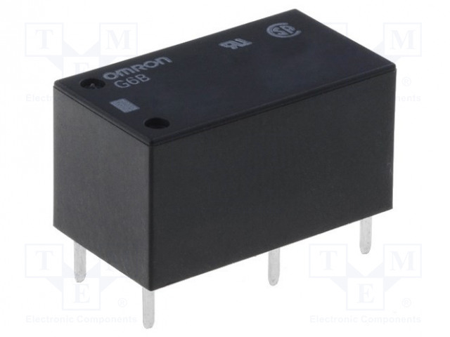 G6B-1174P-US 12VDC_Relay: electromagnetic; SPST-NO; Ucoil:12VDC; 8A/250VAC; 8A/30VDC