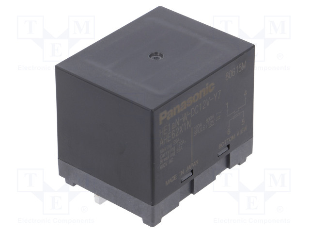 HE1AN-W-DC12V-Y7_Relay: electromagnetic; SPST-NO; Ucoil:12VDC; Icontacts max:120A