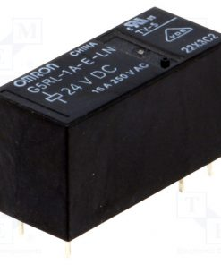 G5RL-1A-E-LN 24VDC_Relay: electromagnetic; SPST-NO; Ucoil:24VDC; 16A/250VAC; 400mW