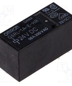 G5RL-1A-E-HR 24VDC_Relay: electromagnetic; SPST-NO; Ucoil:24VDC; 16A/250VAC; 400mW