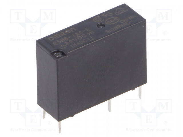 G5NB-1A4-E 24VDC_Relay: electromagnetic; SPST-NO; Ucoil:24VDC; 5A/250VAC; 3A/30VDC