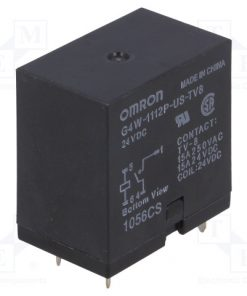 G4W-1112P-US-TV8 24VDC_Relay: electromagnetic; SPST-NO; Ucoil:24VDC; Icontacts max:15A