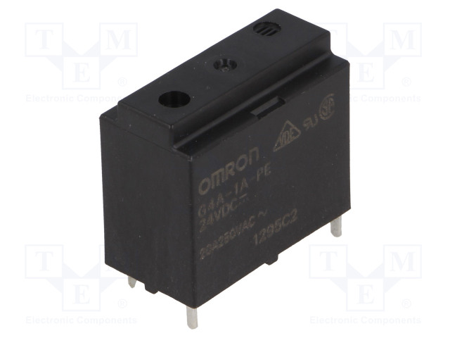 G4A-1A-PE 24VDC_Relay: electromagnetic; SPST-NO; Ucoil:24VDC; Icontacts max:20A