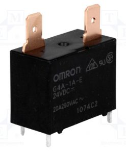G4A-1A-E 24VDC_Relay: electromagnetic; SPST-NO; Ucoil:24VDC; Icontacts max:20A