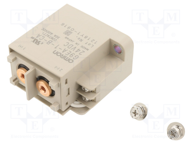 G9EA-1-B-CA 24VDC_Relay: electromagnetic; SPST-NO; Ucoil:24VDC; Icontacts max:30A