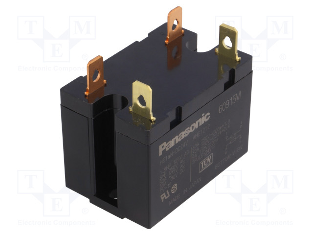 HE1AN-DC24V_Relay: electromagnetic; SPST-NO; Ucoil:24VDC; Icontacts max:30A