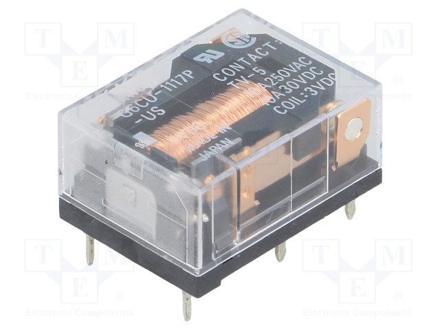 G6CU-1117P-US 3VDC_Relay: electromagnetic; SPST-NO; Ucoil:3VDC; 10A/250VAC