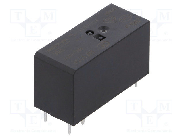 HF115F/005-1HS3_Relay: electromagnetic; SPST-NO; Ucoil:5VDC; 16A/250VAC; 16A