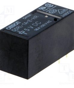 G5RL-1A-E-HR 5VDC_Relay: electromagnetic; SPST-NO; Ucoil:5VDC; 16A/250VAC; toff:5ms