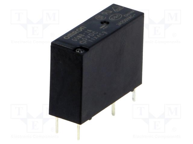 G5NB-1A 5VDC_Relay: electromagnetic; SPST-NO; Ucoil:5VDC; 3A/125VAC; 3A/30VDC