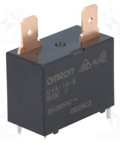 G4A-1A-E 5VDC_Relay: electromagnetic; SPST-NO; Ucoil:5VDC; Icontacts max:20A