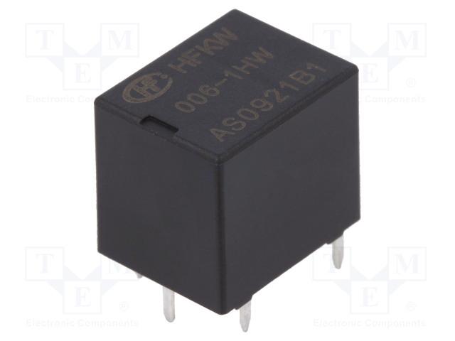 HFKW/006-1HW_Relay: electromagnetic; SPST-NO; Ucoil:6VDC; 35A; Ucoil max:8VDC