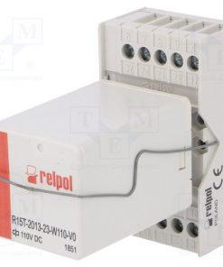 PIR153T-110DC-V0_Relay: interface; 3PDT; Ucoil:110VDC; 10A; 10A/250VAC; 10A/24VDC