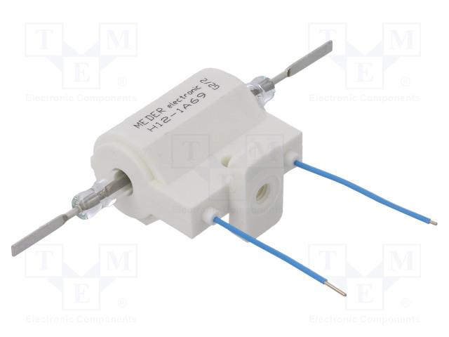H12-1A69_Relay: reed; SPST-NO; Ucoil:12VDC; 5A; max.10kVDC; max.10kVAC; 50W